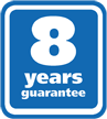 8 години гаранция